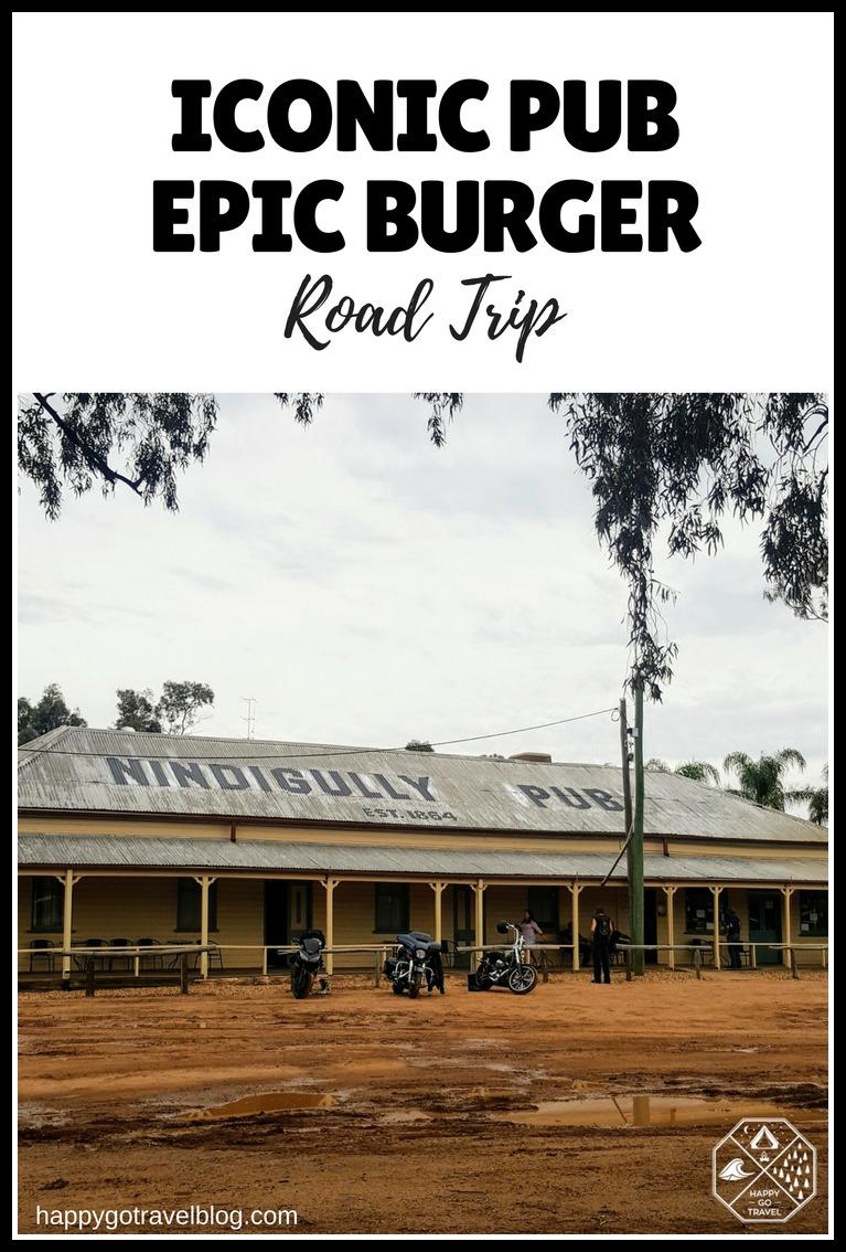 Iconic Pub Nindigully Pub Road Trip | Epic road train burger