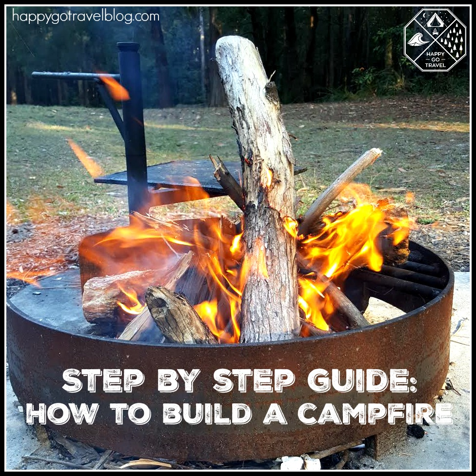 How to build a campfire | campfire safety