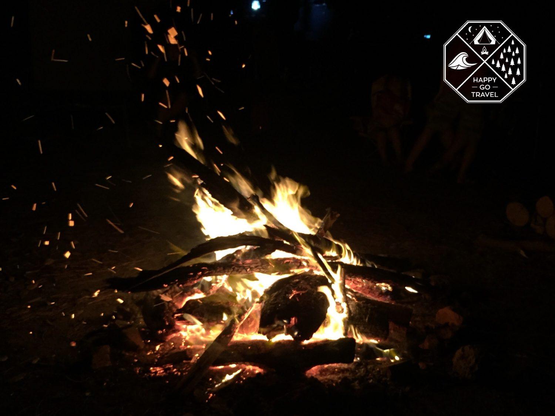 How to build a campfire | campfire