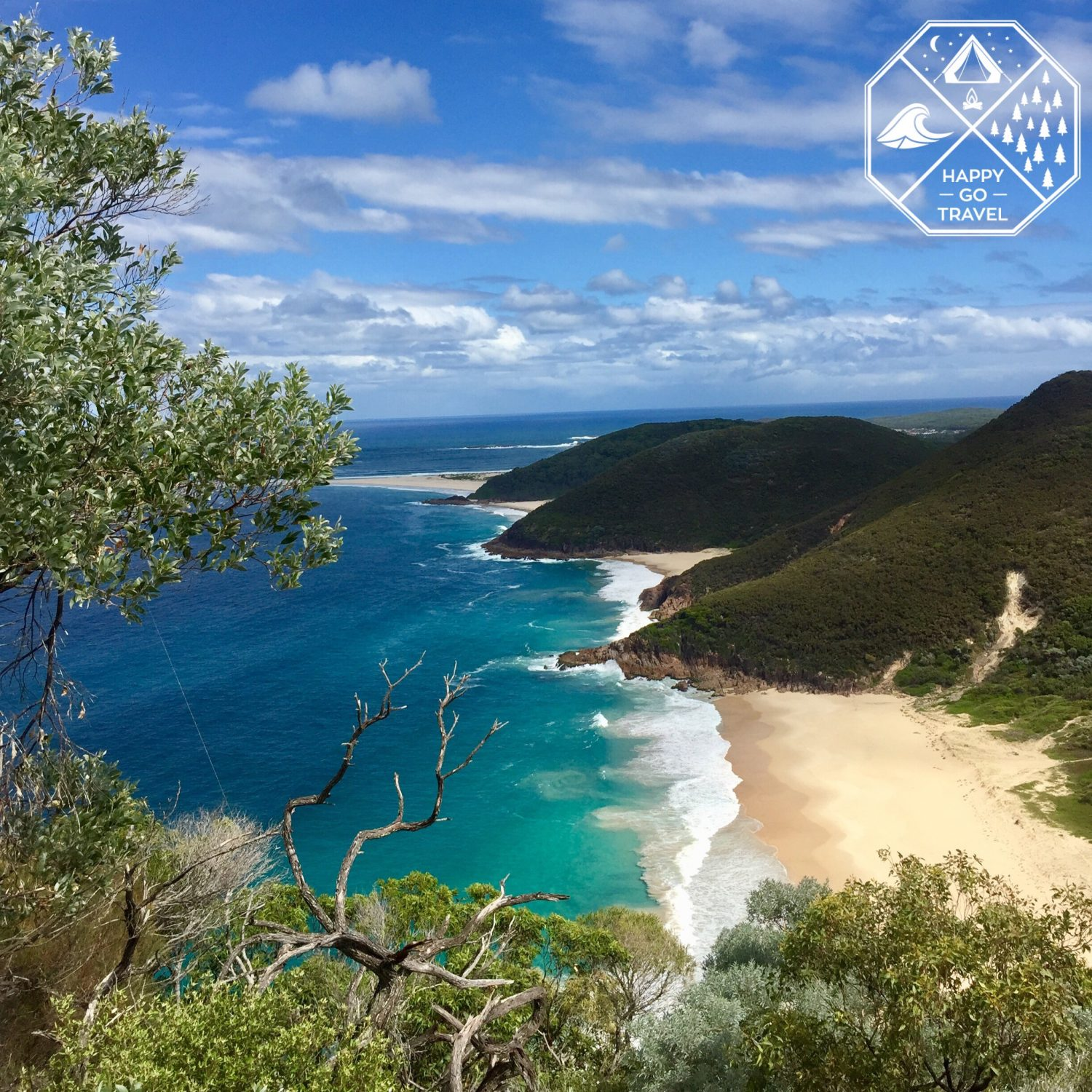 view from the Summit of Mount Tomaree, Port Stephens NSW | Mt Tomaree