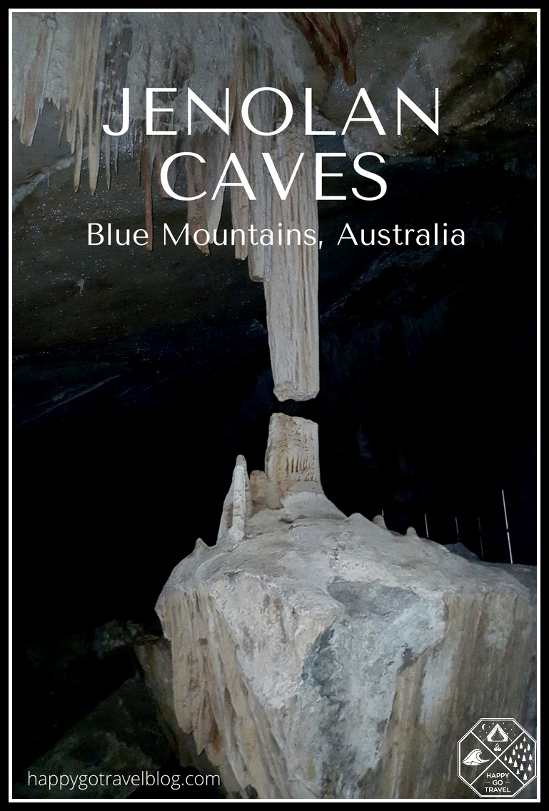 Jenolan Caves, Blue Mountains. Lucas Cave oldest open caves in the world | Broken column