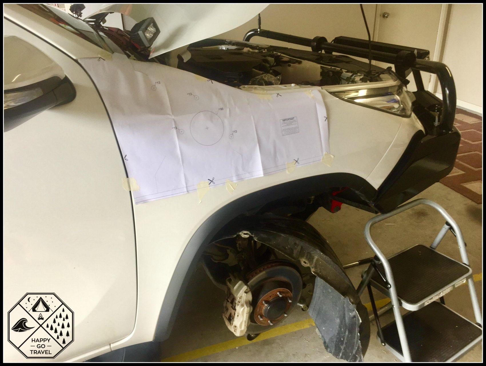 Toyota Fortuner, TJM Snorkel | 4x4 Snorkel installation