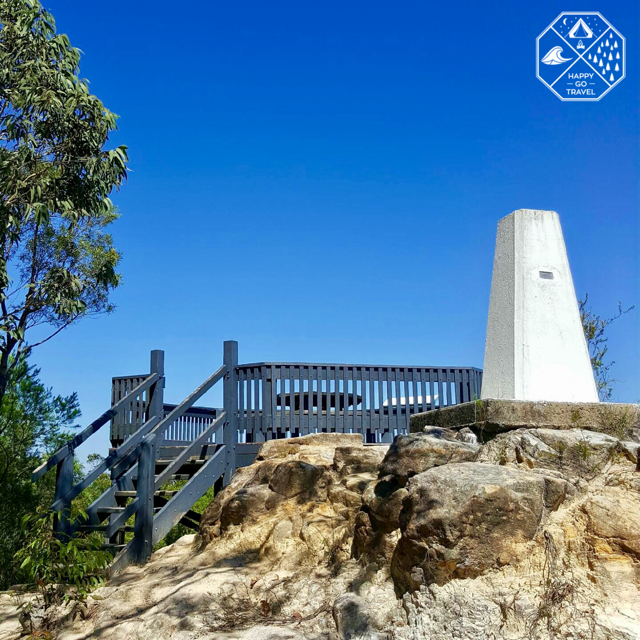 Yengo National Park - Finchley lookout stairs