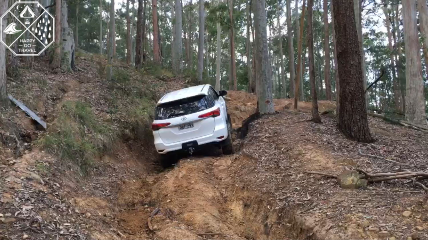 Toyota Fortuner 4wding CTP80 track | Watagans 4x4 tracks