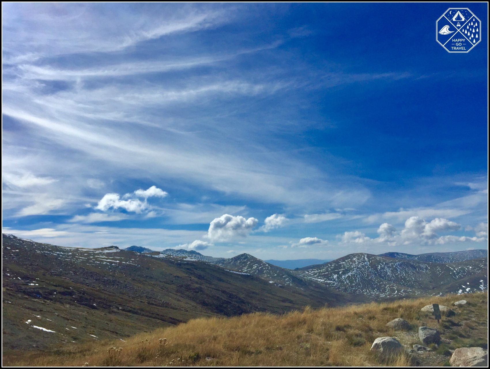 Hiking Mount Kosciuszko | the snow covered peaks of the Australian Alps Snowy Mountains