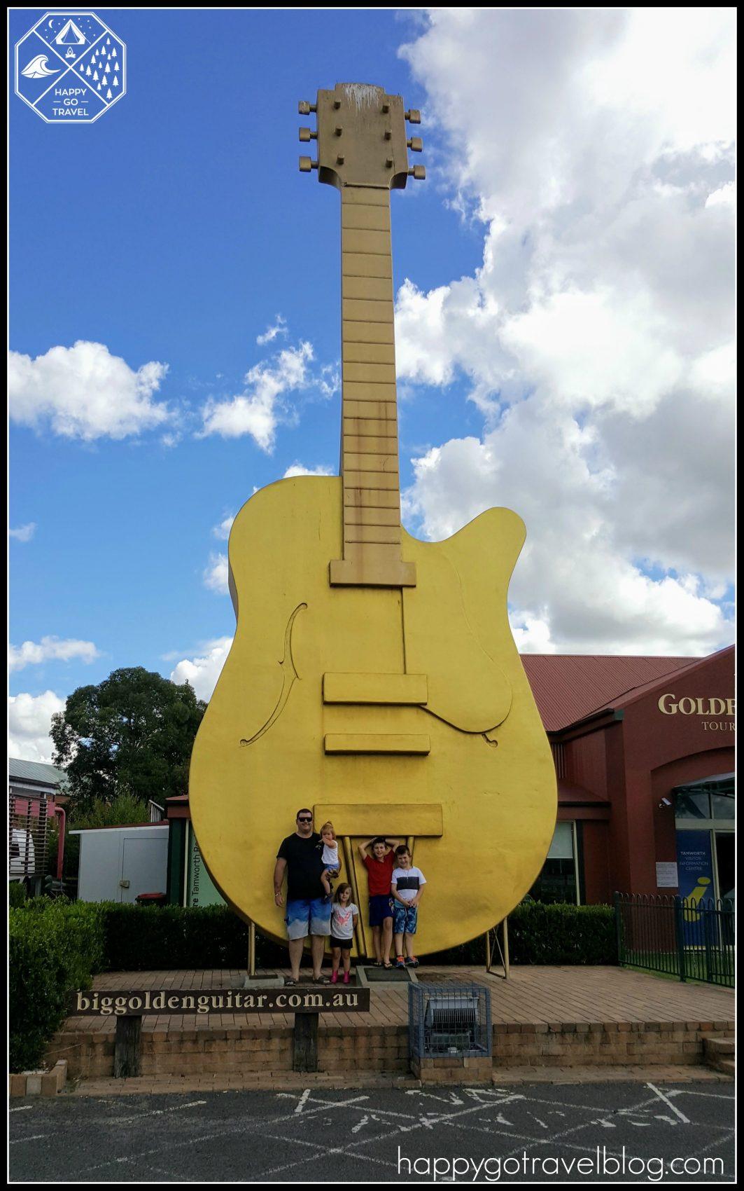Big Golden Guitar Tamworth