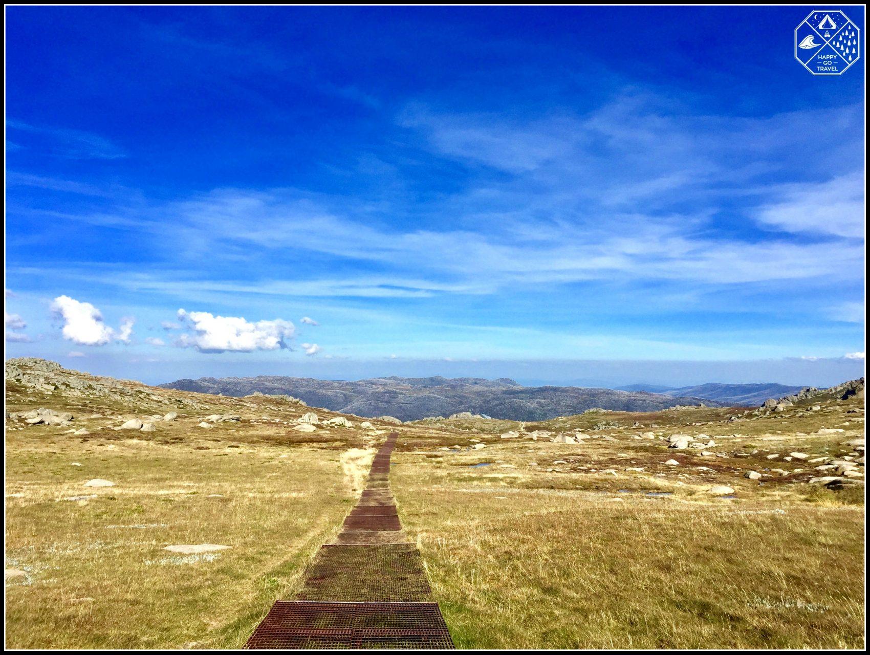 Hiking Mount Kosciuszko | walkway up Australia's highest mountain