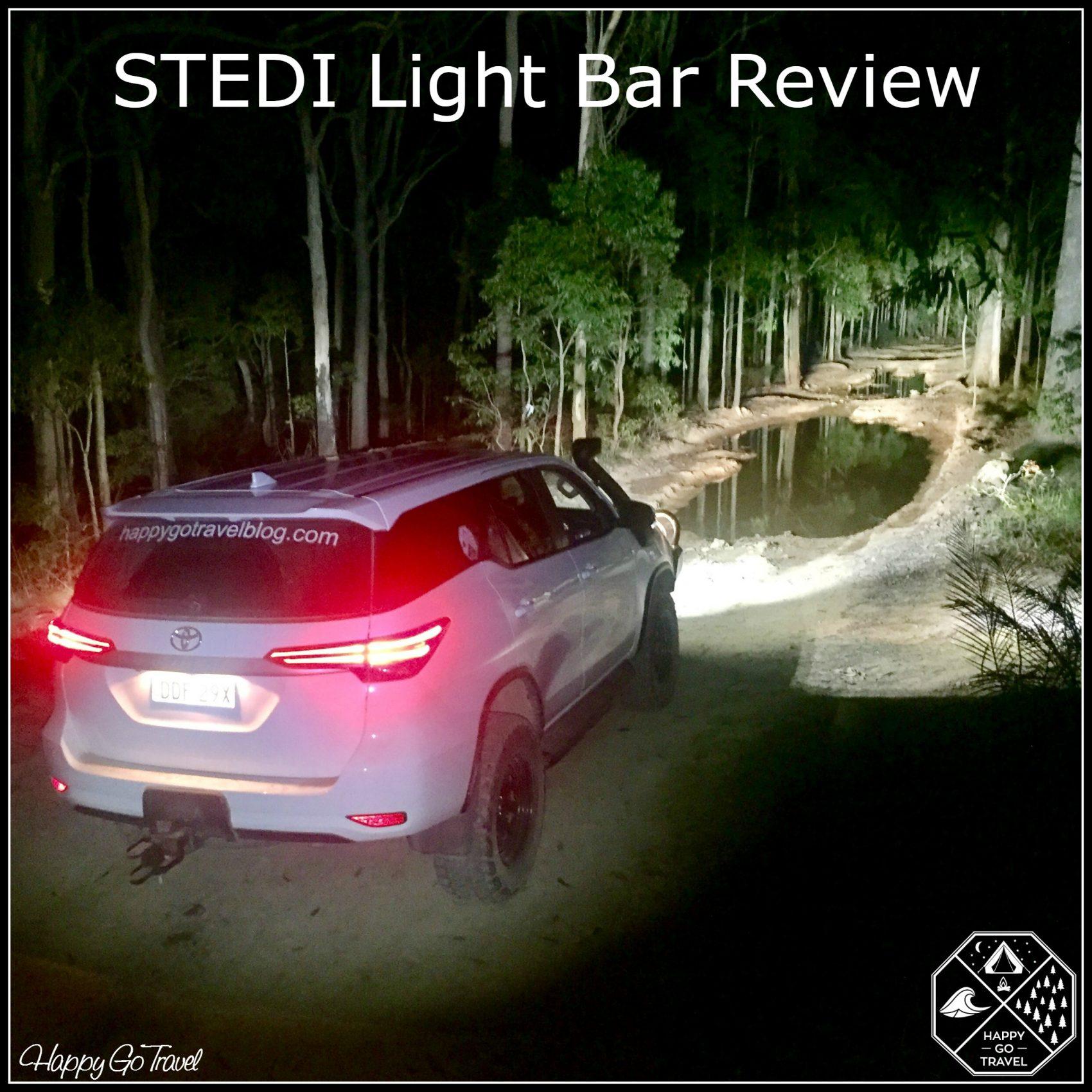 Stedi Light Bar Review St4k Led Happy Go Travel