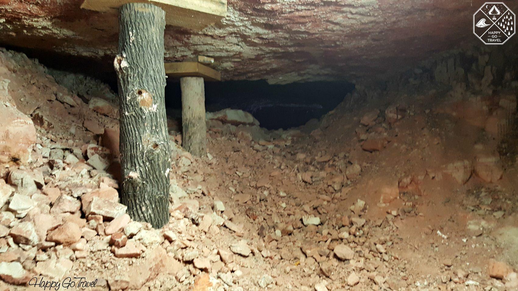 Opal Mine Adventure Tour through underground Lightning Ridge opal mines
