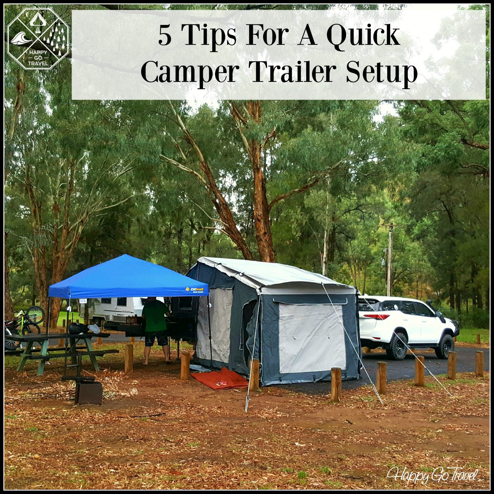 Original EXPLORER 15 QE TENT BY EMU CAMPERS  EMU CAMPER TRAILERS GOLD COAST