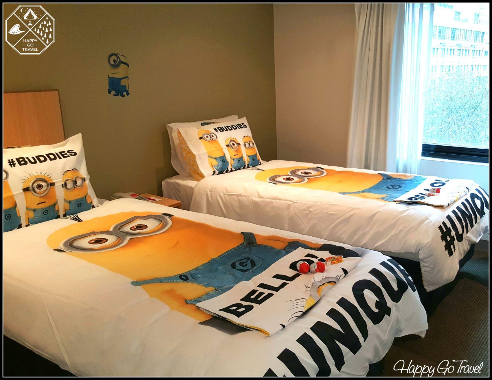 Travelodge Hotel Minion makeover