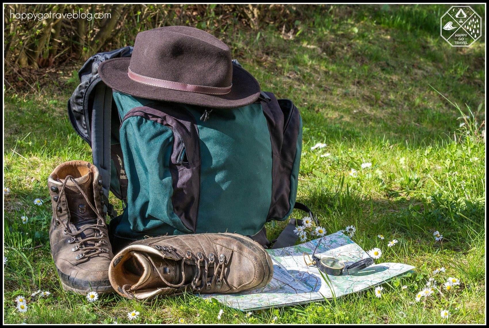 hiker backpacking essentials