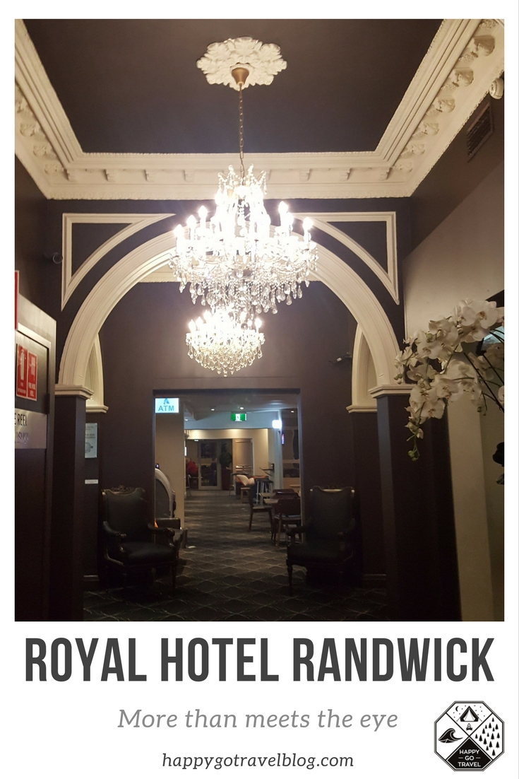 Royal Hotel Randwick review Pinterest