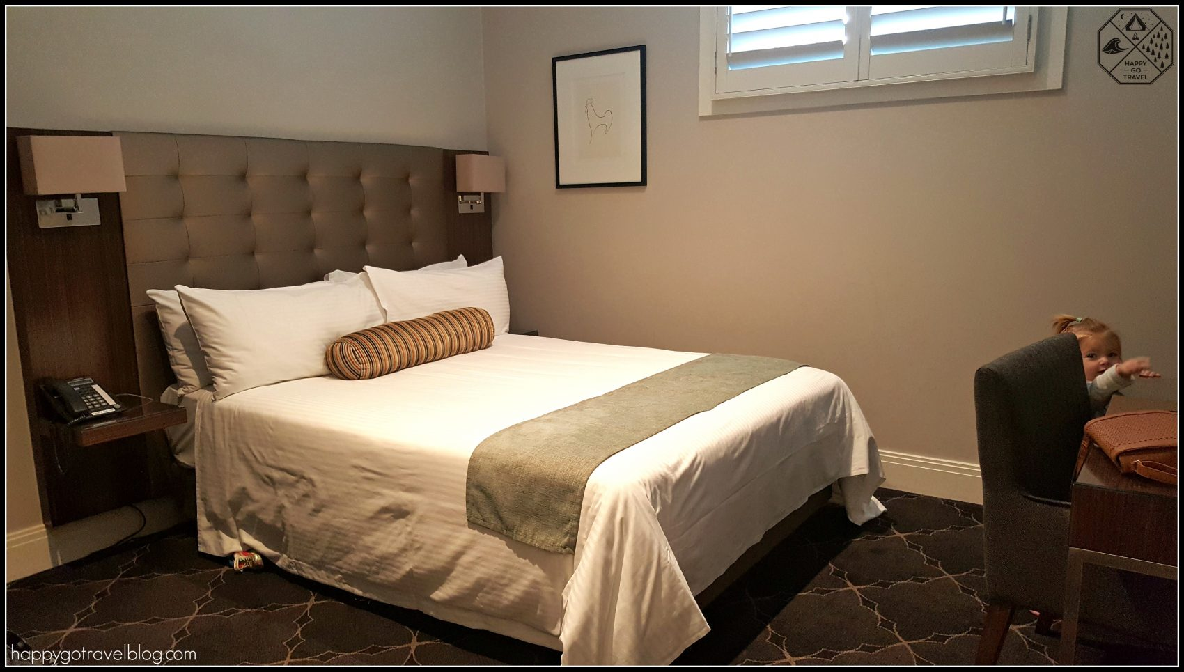 Royal Hotel Randwick review Sydney hotel room