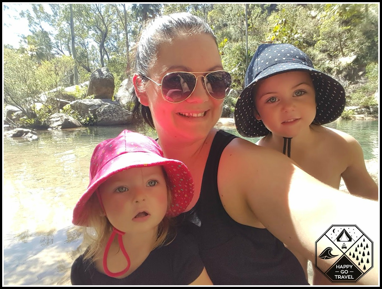 Mum and daughters exploring | Kell and the girls