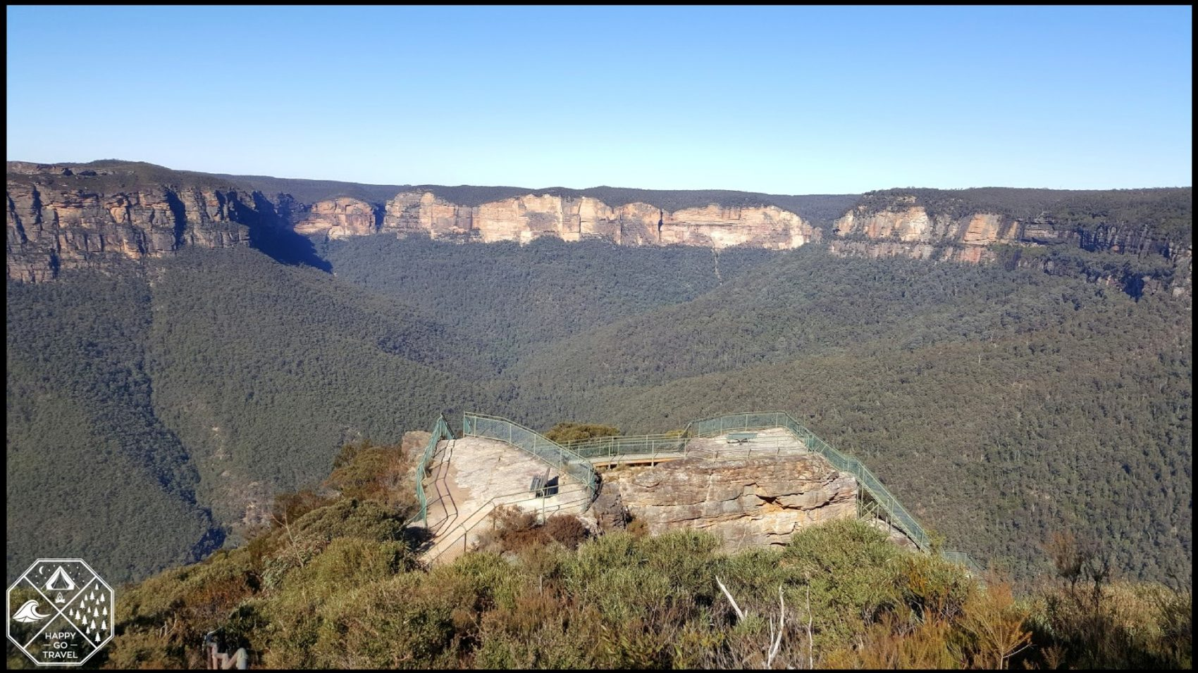Blue Mountains tourist activities - Pulpit Rock Lookout