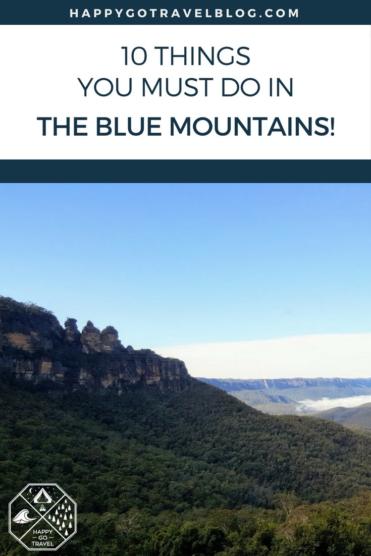 Happy Go Travel - things to do in the Blue Mountains