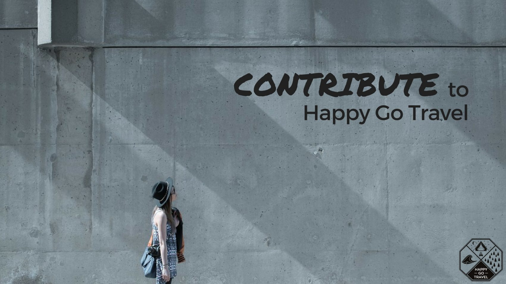 how you can contribute and write for Happy Go Travel