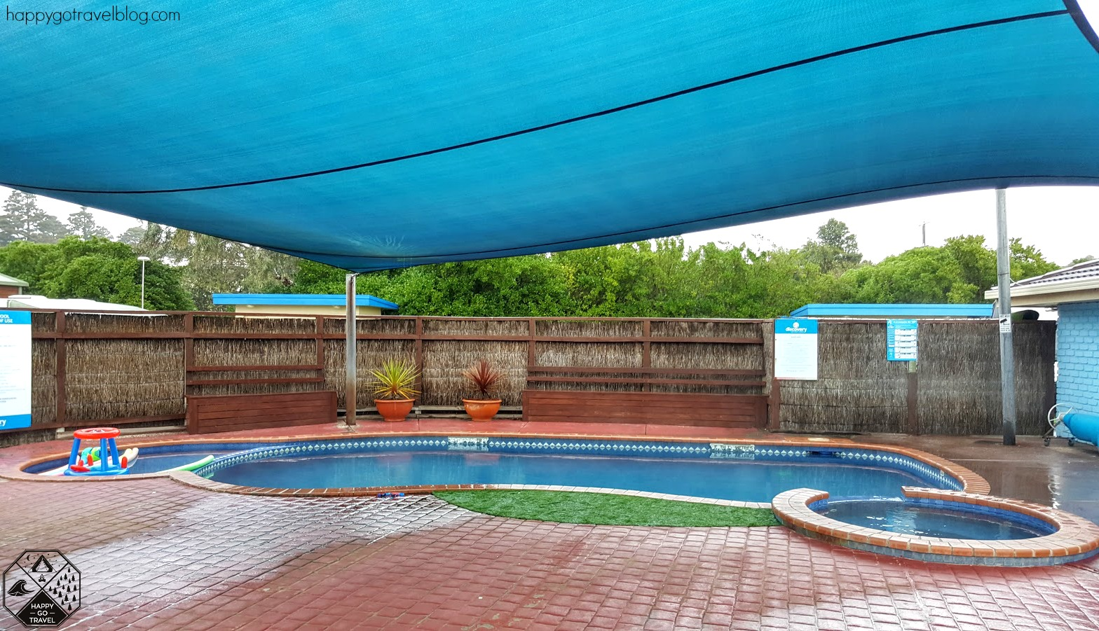 Warrnambool discovery holiday park heated pool