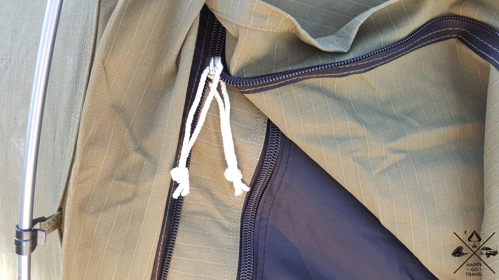 OZtrail swag zips