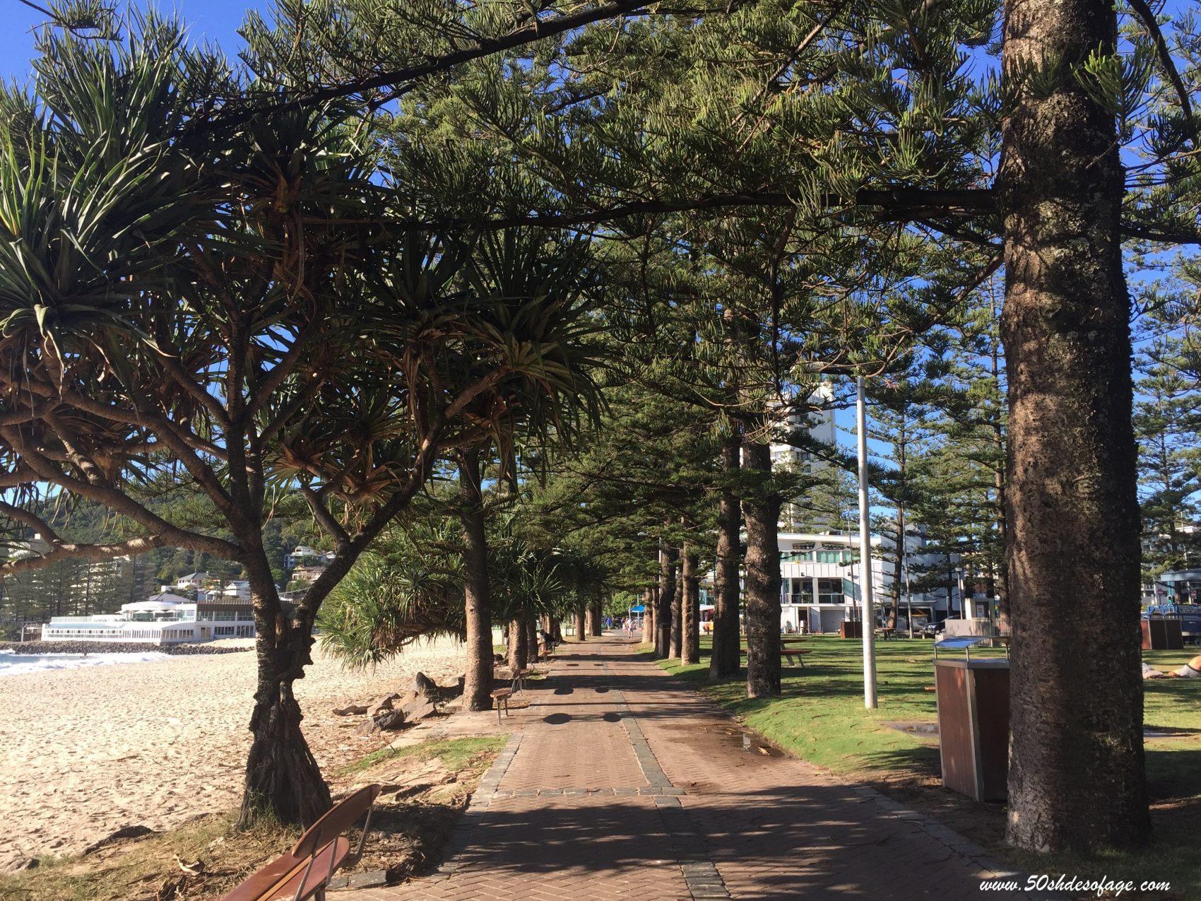 Gold Coast walkway
