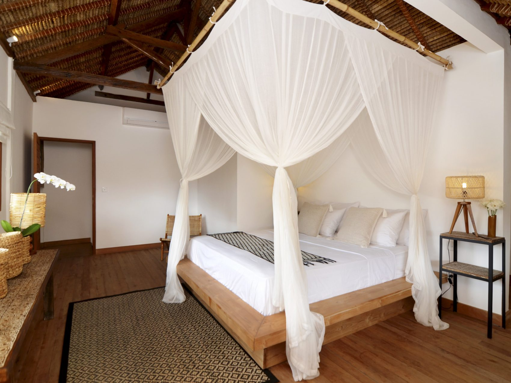 Bedroom in bali villa