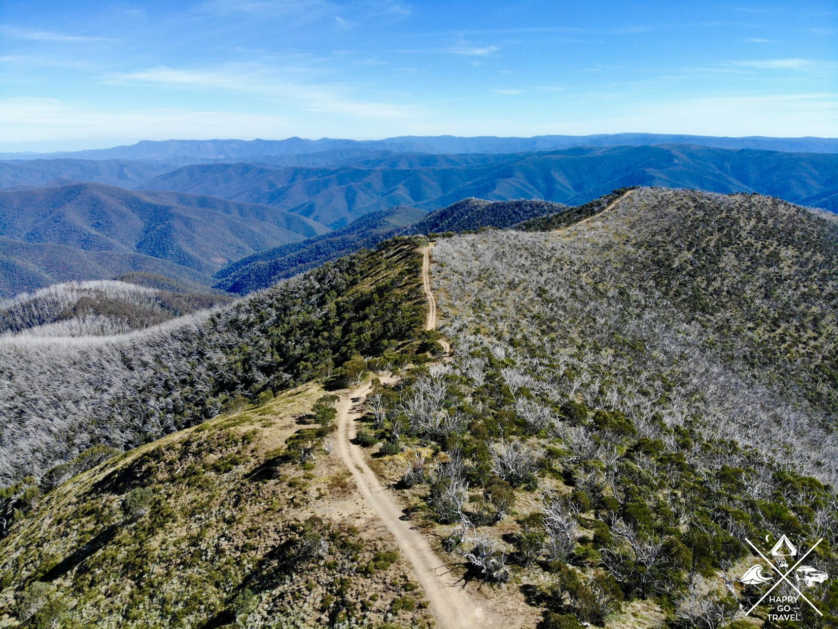 Blue Rag Range Track The Victorian High Country
