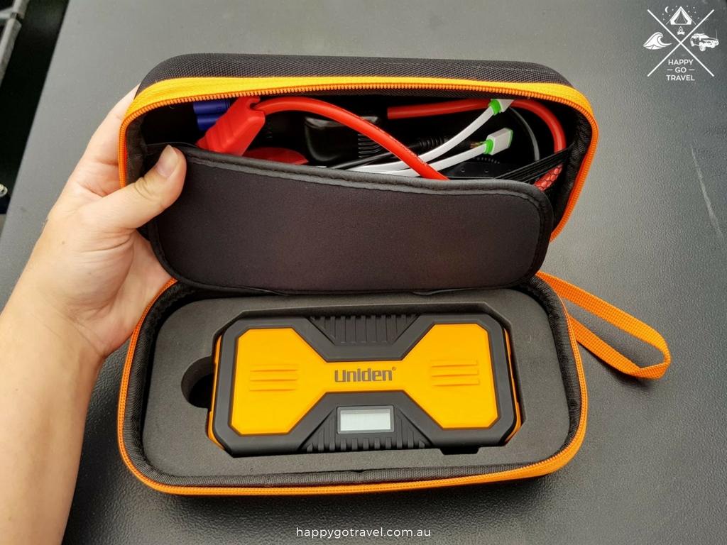 Uniden jump start kit in carry case
