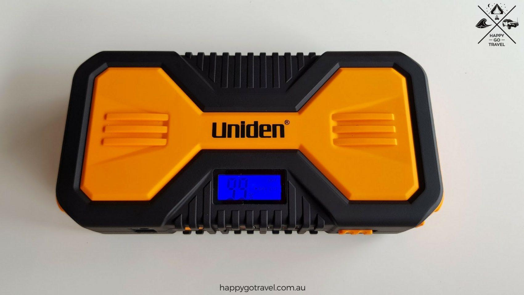 Uniden jump start kit turned on