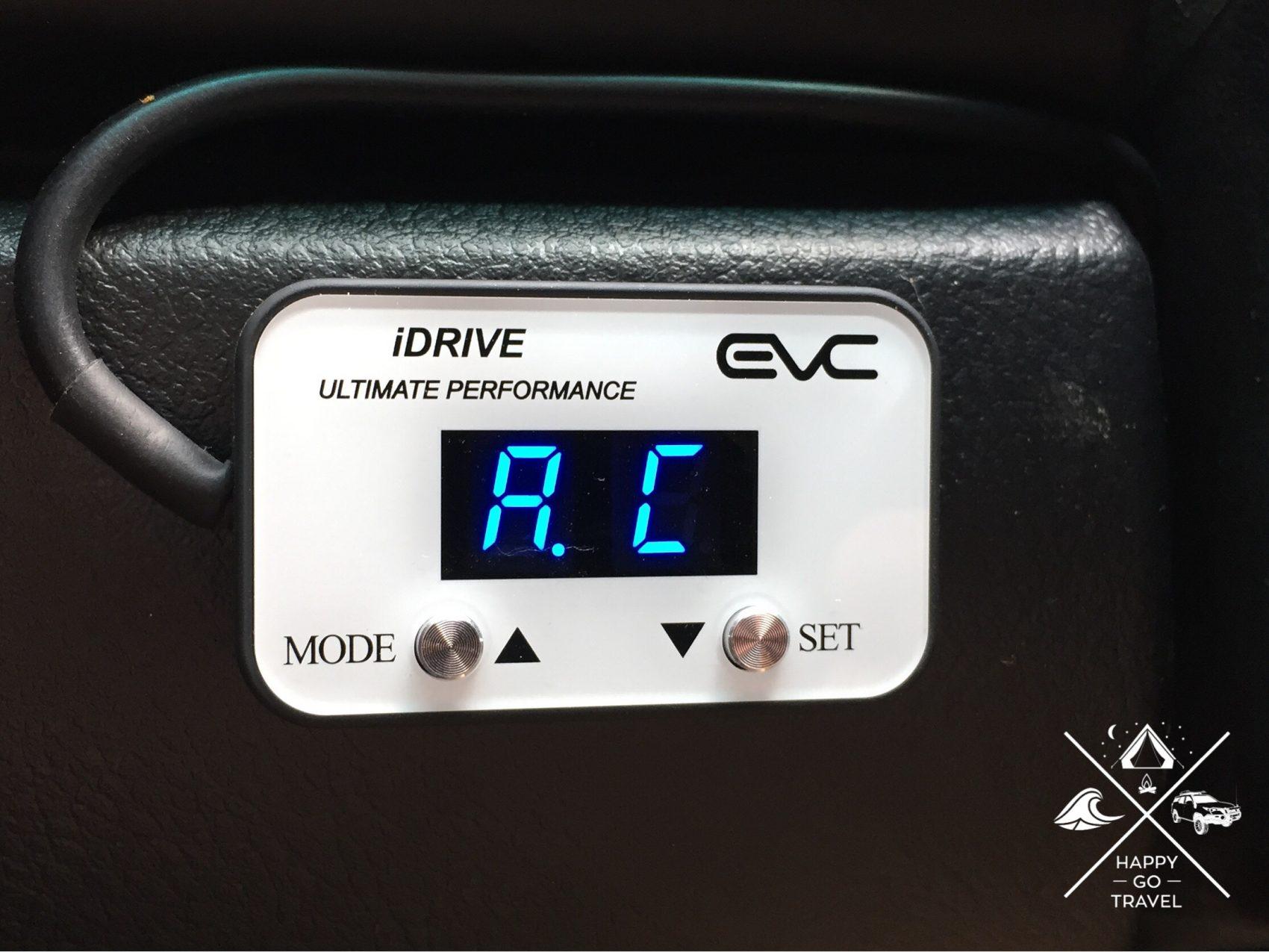 iDrive Australia throttle control module auto mode
