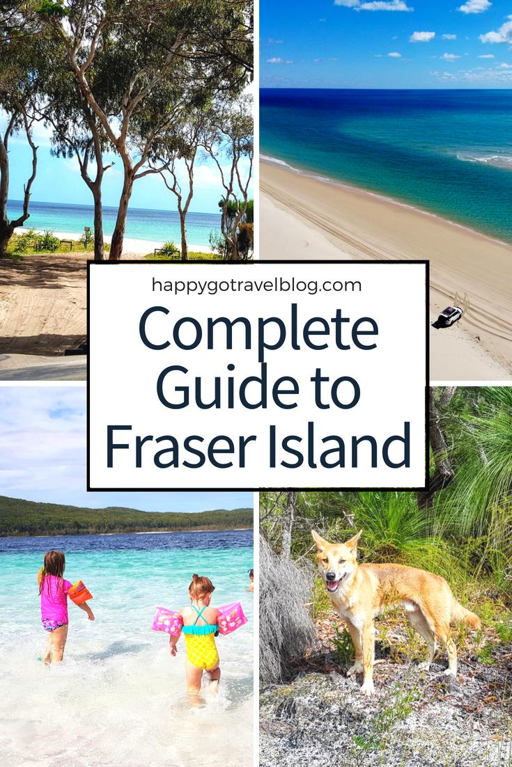 Happy Go Travel - Complete Guide to Fraser Island | #travel #Queensland #FraserIsland