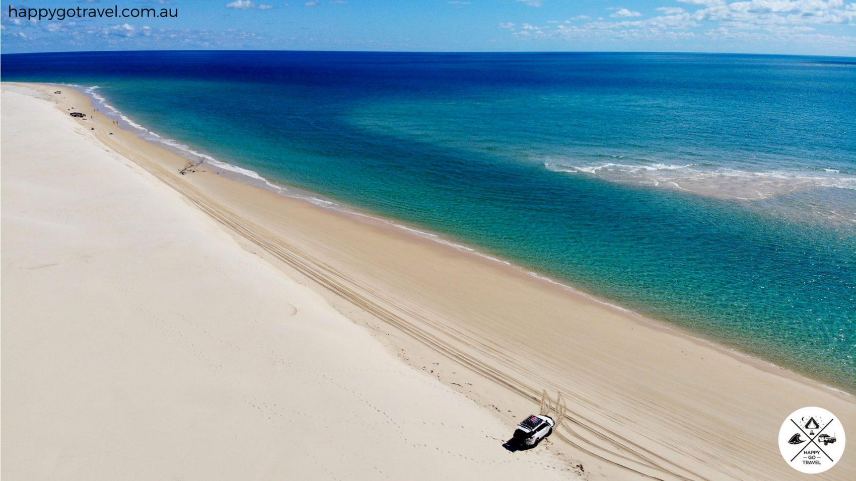 Fraser Island western beach