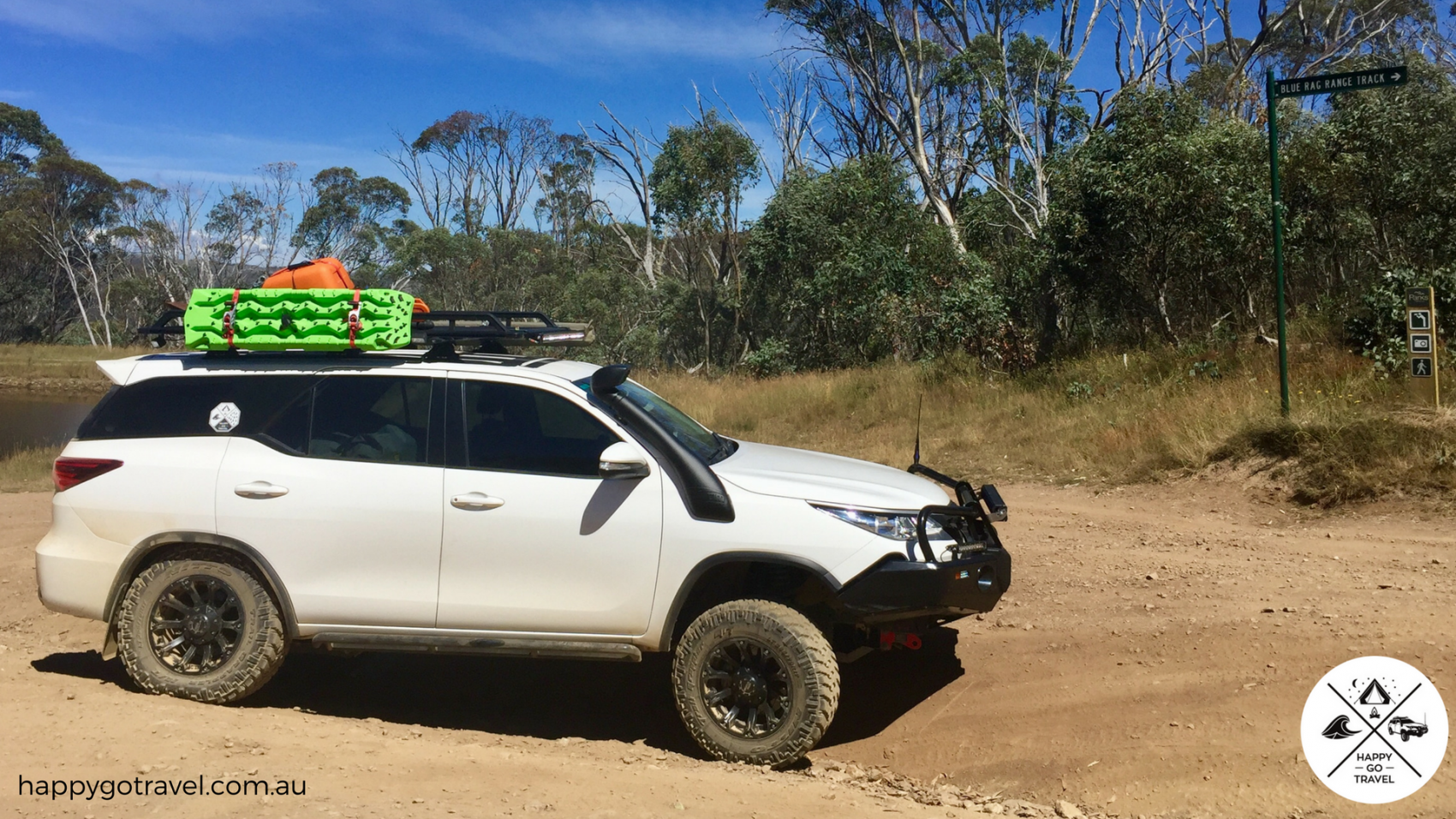 Toyota Fortuner Victorian High Country, Blue Rag Range Track suspension
