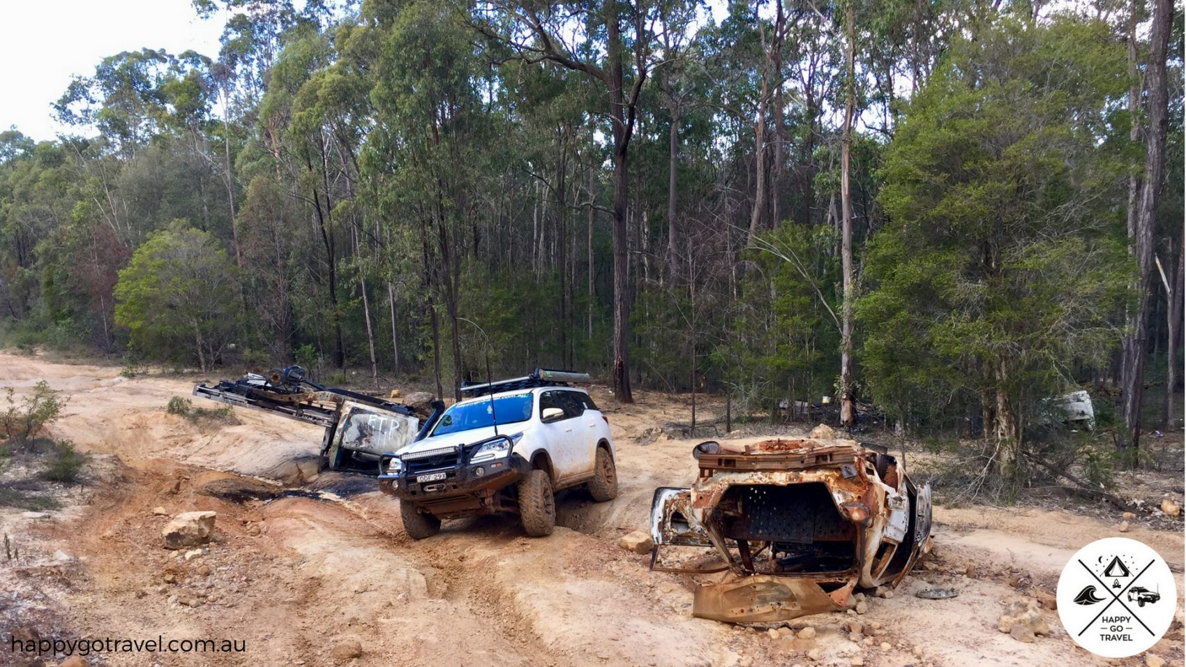 Toyota Fortuner 4wd diff drop suspension flex. Aberdare State Forest