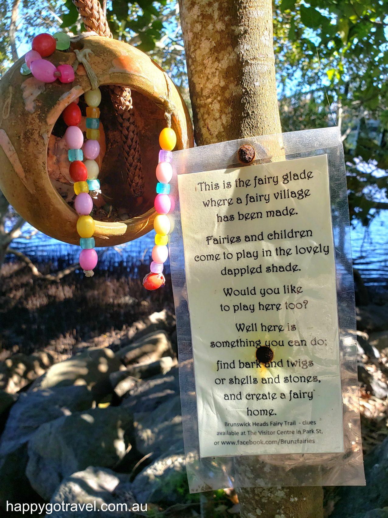 Brunswick Heads Fairy Trail For Kids - DIY fairy village