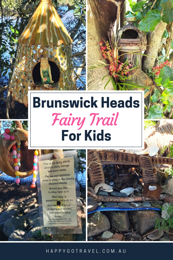 Looking for fun things to do near Byron Bay? Brunswick Heads Fairy Trail For Kids is so much fun! #ByronBay #Travel #BrunswickHeads #FairyTrail #TravelWithKids