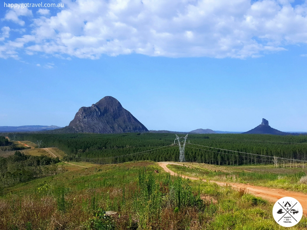 Day trips from Brisbane - Glasshouse Mountains Sunshine Coast QLD