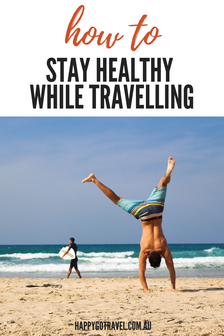 It is possible to stay healthy while travelling – CLICK HERE to see how! #health #fitness #travel #exercise #family
