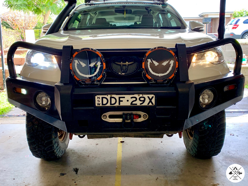 Toyota Fortuner, LED headlight upgrade. Stedi Project LED conversion kit Vs standard Toyota low beam