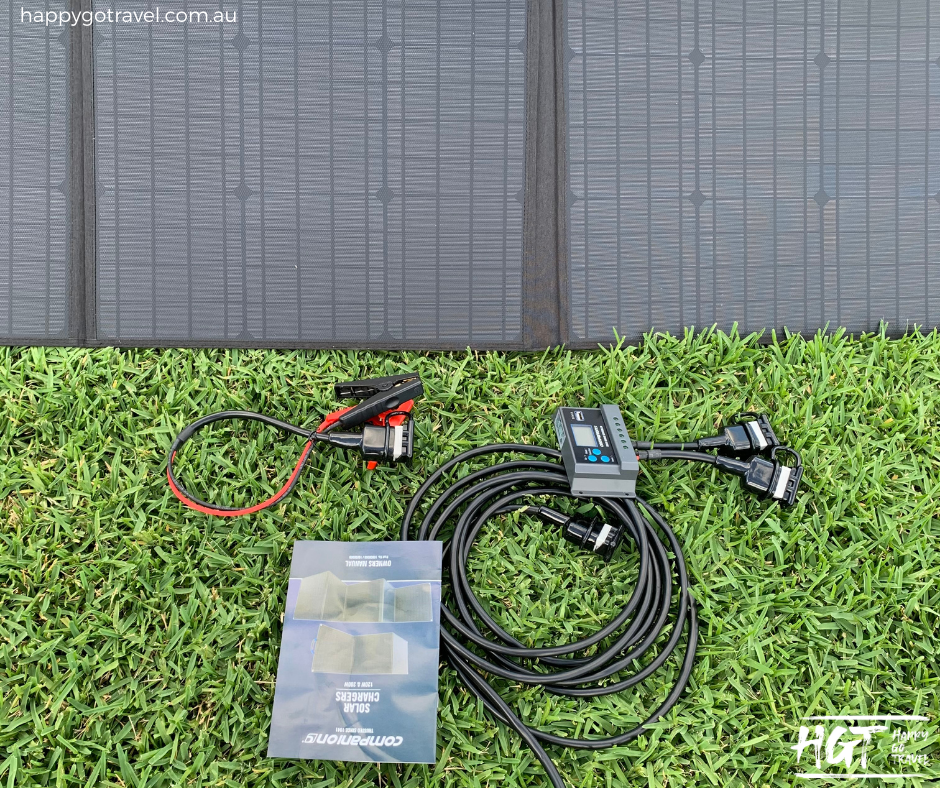 Companion 200w solar charger review whats included