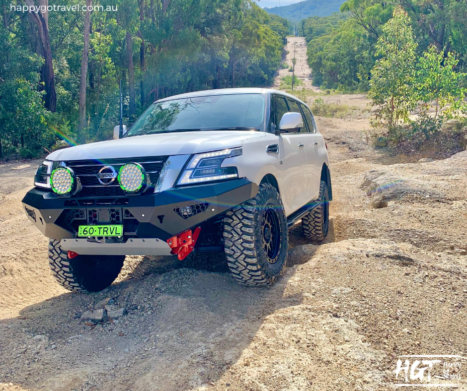 Modified Nissan Patrol y62 off road Capable 4wd