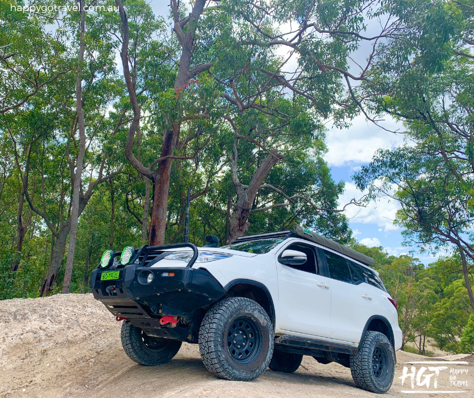 modified  Toyota Fortuner offroad